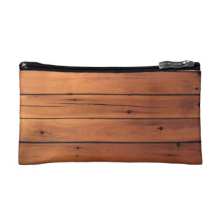 Wooden wall cosmetic bags