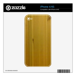 wooden wall iPhone 4 decal