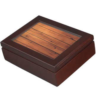 Wooden wall memory boxes