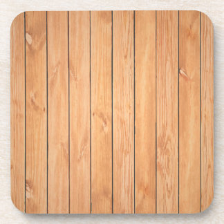 Wooden wall texture drink coaster