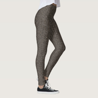 Wooden Weave 1-2 Image Options Leggings