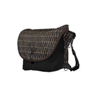 Wooden Weave 1  Messenger Bag