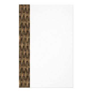 Wooden Weave 2 Stationery