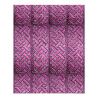 Wooden Weave Pattern Purple Photo