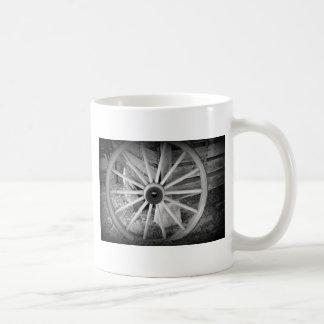 Wooden Wheel Mugs