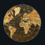 "Wooden World Map Dartboard With Darts<br><div class=""desc""></div>"