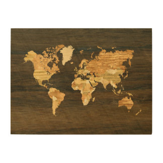 World Map Wood Wall Art world map wood wall art | zazzle
