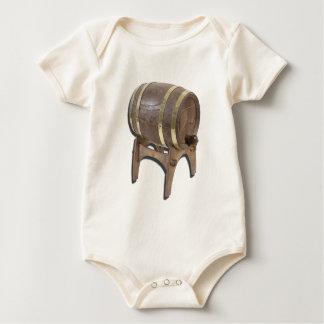 WoodenBarrelOnStand091612 copy.png Baby Bodysuit