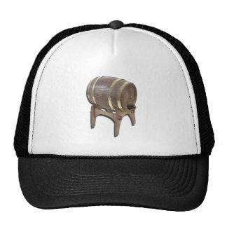 WoodenBarrelOnStand091612 copy.png Trucker Hat