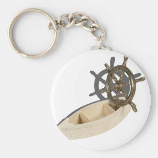 WoodenBoatBrassShipWheel082612.png Keychain