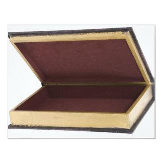 "WoodenBook082209 Invitación 4.25"" X 5.5"""