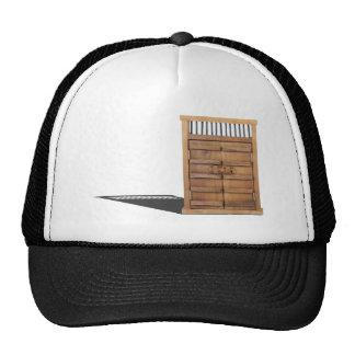 WoodenCastleDoorBarLock021613.png Trucker Hat