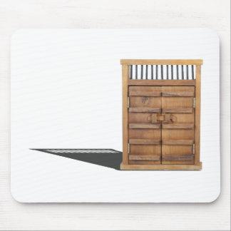 WoodenCastleDoorBarLock021613.png Mouse Pad