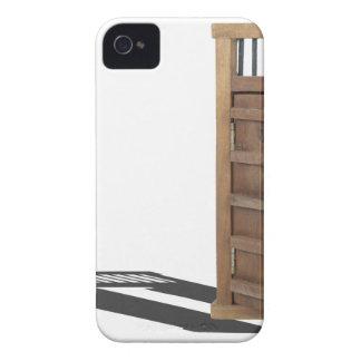 WoodenCastleDoorBarUnlocked021613.png iPhone 4 Cover