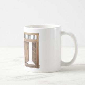 WoodenCastleOpenDoorBrass021613.png Coffee Mug