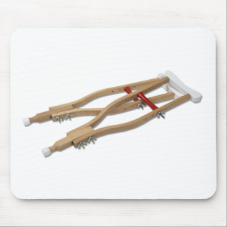 WoodenCrutches081210 Mouse Pad