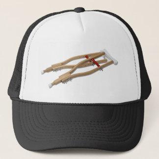 WoodenCrutches081210 Trucker Hat