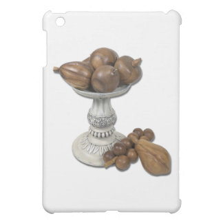 WoodenFruitOnPedestal040311 iPad Mini Case