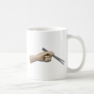 WoodenHandMetalChopstick101412 copy.png Coffee Mug