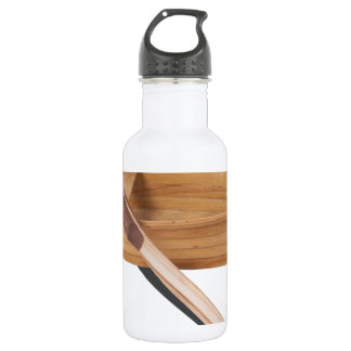 WoodenRowboatWithOars050314.png Water Bottle