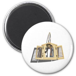 WoodenShutterKeysOnRing090312.png 2 Inch Round Magnet