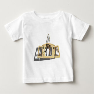 WoodenShutterKeysOnRing090312.png Baby T-Shirt