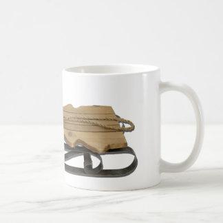 WoodenSledShapeTree032112.png Coffee Mug