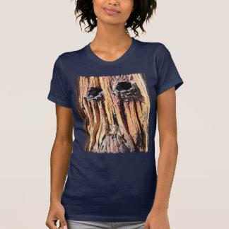 Woodface Ladies T Shirt