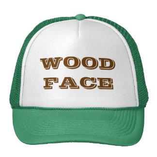 WOODFACE TRUCKER HAT