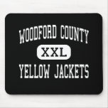 Woodford County - Yellow Jackets - Versailles Mouse Mat