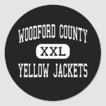Woodford County - Yellow Jackets - Versailles Sticker