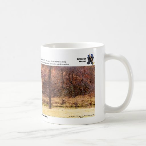 Woodford Shale VII - Outcrop Characterization Mug