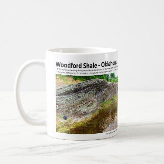 Woodford Shale XII - Outcrop Characterization Coffee Mug