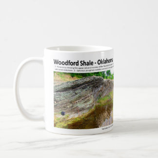 Woodford Shale XII - Outcrop Characterization Classic White Coffee Mug