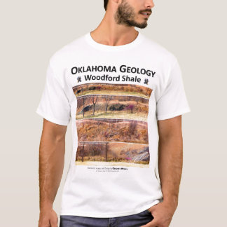Woodford Shale XVII - Outcrop Characterization T-Shirt