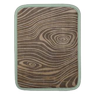 woodgrain ipad sleeve