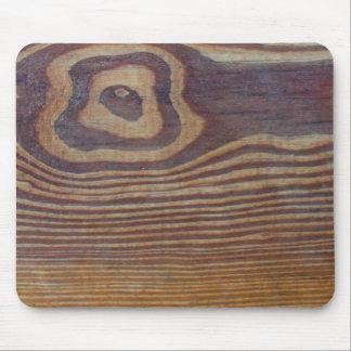 woodgrain mousepad
