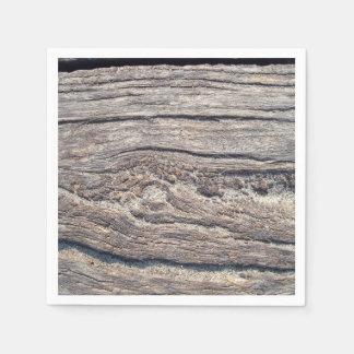 Woodgrain Paper Napkin
