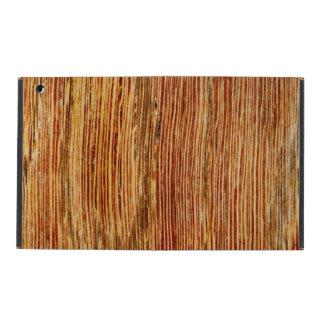 Woodgrain Pattern Image. iPad Folio Case