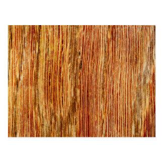 Woodgrain Pattern Image. Postcard