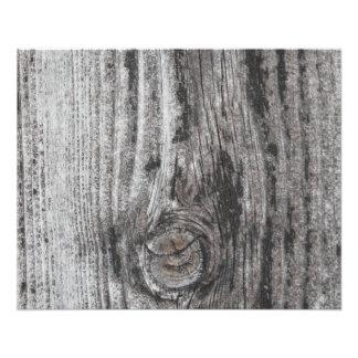 Woodgrain Picture. Flyer