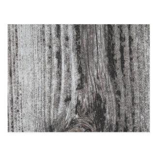 Woodgrain Picture. Postcard