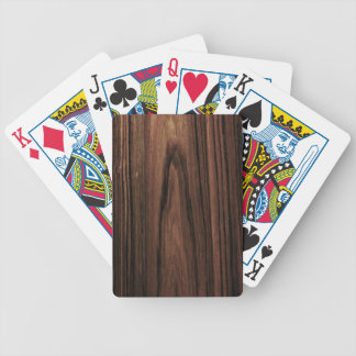 Woodgrain Deck Of Cards