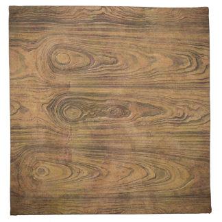 Woodgrain Rustic Country cowboyWedding Cloth Napkin
