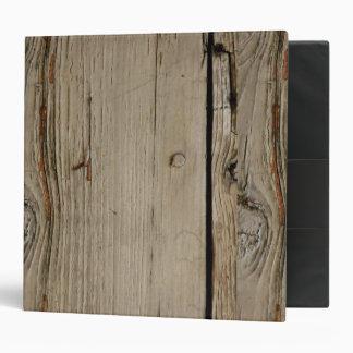 Woodgrain School Notebook 3 Ring Binder