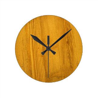 Woodgrain Texture Clock