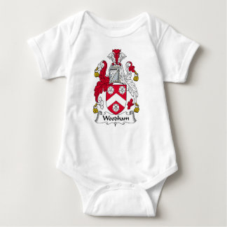Woodham Family Crest Baby Bodysuit