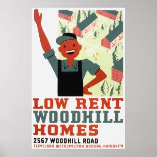 Woodhill de alquiler moderado se dirige el poster