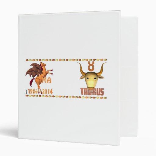WoodHorseTaurus Vinyl Binder