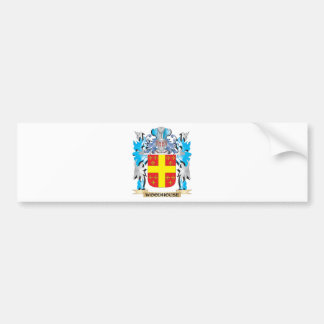 Woodhouse Coat of Arms - Family Crest Car Bumper Sticker